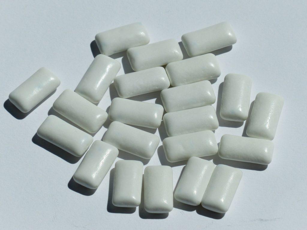 Zahnpflegekaugummis