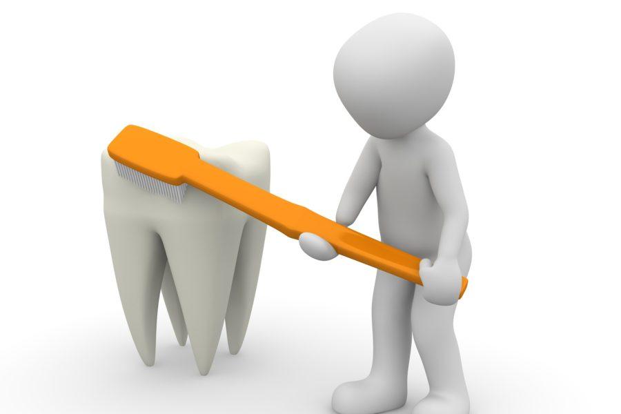 Zahnpflege bei Karies